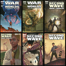 War of the Worlds Second Wave Comic Set 1-2-3-4-5-6 Lot H G Wells Alien Invasion