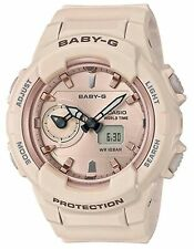 Casio Women's Baby-G Analog & Digital Pink Resin Watch BGA230SA-4A