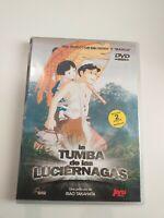 DVD     la tumba de las luciernagas del director de heidi y marco isao takahata