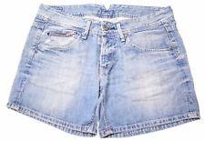 PEPE Jeans Poppy Shorts w25 w26 w27 Donna Pantaloni Corti Stretch Denim Blu Bermuda