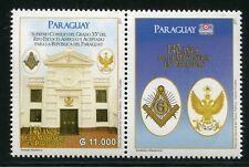 Paraguay 2011 MASSONERIA MASONIC Freemason MASONERIA 5107 post FRESCHI MNH