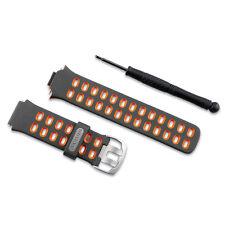 Garmin Genuine OEM Replacement Band Kit for Forerunner 310XT Watch Orange/Grey