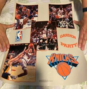 Vintage Basketball Poster lot of 4