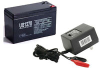 UPG 12V 7AH Battery for JohnLite CY-0112 Spotlight  WITH CHARGER