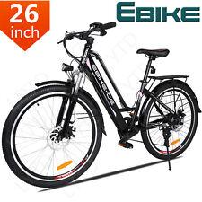 EBIKE-DE 26 Zoll Elektrofahrrad Mountaibike 36V Pedelec Shimano 250W 36V E-Bike