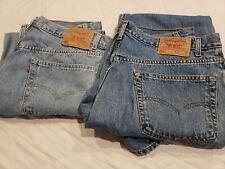 Levi's 550 men's jeans W40L30 (2 pair)