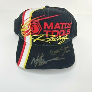 Matco Tools Racing Hat with Autographs of Whit Bazemore and Bruce Sarver