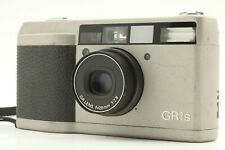 【Near mint LCD Works strap FeDex】RICOH GR1s silver camera from JAPAN #247