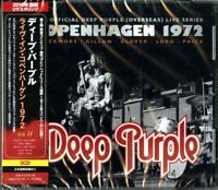 DEEP PURPLE-DEEP PURPLE MKII- LIVE IN COPENHAGEN 1972-JAPAN   BONUS TRACK G88