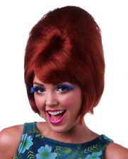 60's BEEHIVE Hairspray Theatrical Costume Wig Adult Blonde Black Brown Red