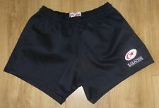 """SARACENS Rugby-NEW-UNWORN-Classic Rugby Shorts-Cotton Drill-Embroidered-38""""Waist"""