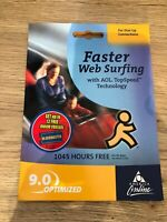 Vintage AOL Online CD 9.0 Web Computing Collectible Still Sealed