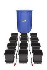 AutoPot 12Pot System mit 225L FlexTank Automatische Bewässerung Grow Hydrokultur