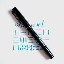 Vintage Mabie Todd Swan S.F. #1 Fountain Pen, 14k Gold Superflex Nib, Restored