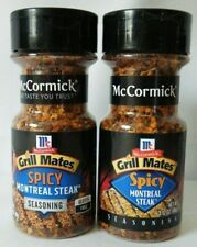 McCormick Grill Mates Spicy Montreal Steak Seasoning 2 Bottle Pack
