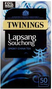 Twinings Lapsang Souchong Tea, 50 Tea Bags