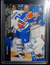 1994-95 Upper Deck #97 Scott Pearson Oilers Hockey Error Wrong Name Card