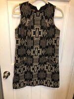 Pendleton Portland Collection EUC Fully Lined Aztec Print Shift Dress M