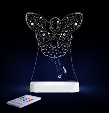 Sleepy Lights Fairy Ballerina Multi-coloured LED Night Light With Remote Control