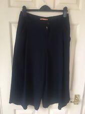 Women's Hugo Boss Orange Navy Culottes Size 6 /10