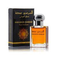 Makkah Attar Perfume Oil 15ml Roll on Fresh Jasmine Amber Ittar Al Haramain