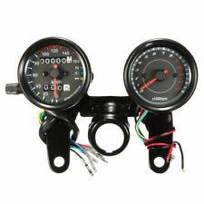 Contachilometri LED nero universale + contagiri tachimetro calibro moto 12V ATV
