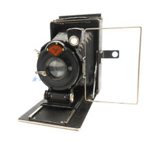 AGFA STANDARD FOLDING CAMERA MODEL No. 204 6.5cm X 9cm ROLLEX 120 FILM BACK