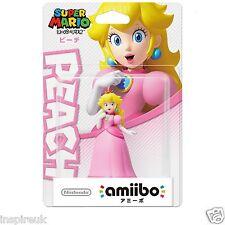 Amiibo Super Mario Bros. serie NFC figura para Nintendo Wii U-Princess Peach