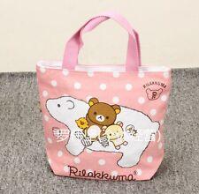 Rilakkuma san-x big sheep pink handbag tote lunch bag storage bags U262 anime ne