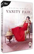 VANITY FAIR (2018): 7 Part Period Drama TV Season Series - NEW Rg2 Eu DVD not US