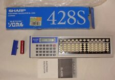 Sharp EL-428S Abakus (ca. 1985) Taschenrechner Unbenutzt