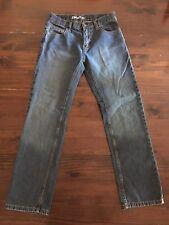 Girls/Juniors DKNY Straight Jeans Size 16 26x28 Medium Wash Denim