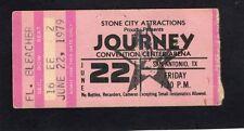 1979 AC/DC Bon Scott Journey concert ticket stub San Antonio If You Want Blood