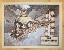 2008 The Raconteurs - Washington DC Silkscreen Concert Poster by Rob Jones