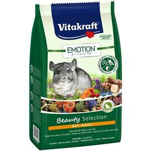 VITAKRAFT Emotion Beauty All Ages, Chinchilla - 600g - Chinchilla Food