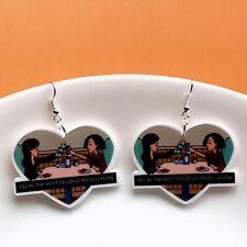 90's Show Daria Dangle Fun Earrings / Retro
