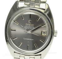 OMEGA Constellation Chronometer Date cal.564 gray Dial AT Men's Watch_507101