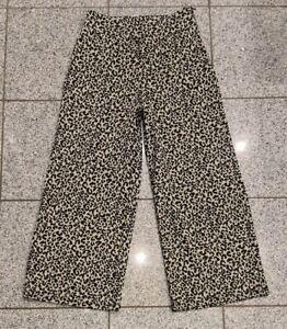 Damen Hose Leoparden Muster Zara Größe M ☆