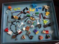 lego minifigure spares and accessories  bundle lot 2