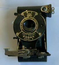 1925 KODAK VEST POCKET CAMERA MODEL B AUTOGRAPHIC VP CANADA FOLDING