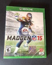 Madden NFL 15 (XBOX ONE) NEW