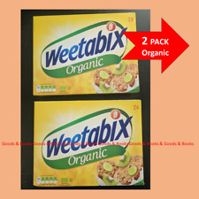 ORGANIC WEETABIX Cereal 2x24 Biscuits 2 Boxes UK Same Day Dispatch