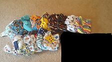 **GREAT PRICE** Excellent Starter Cloth Diapers Lot-18 diapers+accessories
