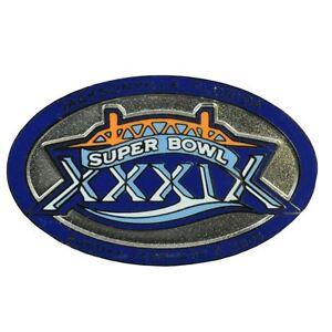 NFL Super Bowl 39 XXXIX Patriots VS Eagles 2005 Florida Metal Commemorative Pin