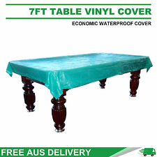 7FT Weighted Corner Waterproof Vinyl Cover for Pool Snooker Table FreeDelivery