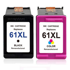 61 XL Black & Color Ink Cartridge for HP Deskjet 2540 1000 1512 2000 2050 2510