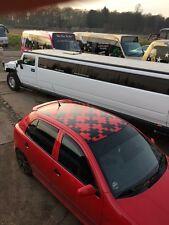 jigsaw roof jdm euro vinyl  graphics stickers decals mini fiat 500 skoda vw
