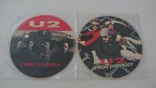 U2 2 LP Picture Disc C,Mon Everybody ITALY