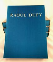 Raoul Dufy, Catalogue raisonné of paintings  VOL 1-2-3-4  ( Laffaille 1972-77 )