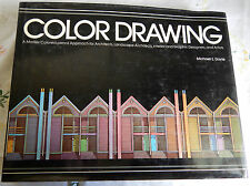 'Color Drawing' by Michael E. Doyle (Hardcover, 1981) Colored-pencil, Marker